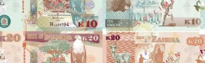 The new banknotes